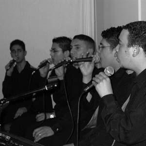 Arab choir...