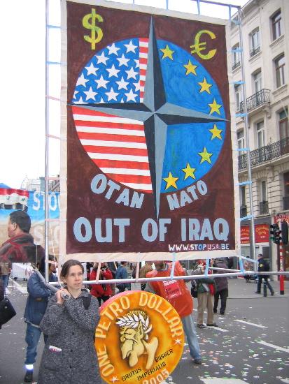 no to NATO...