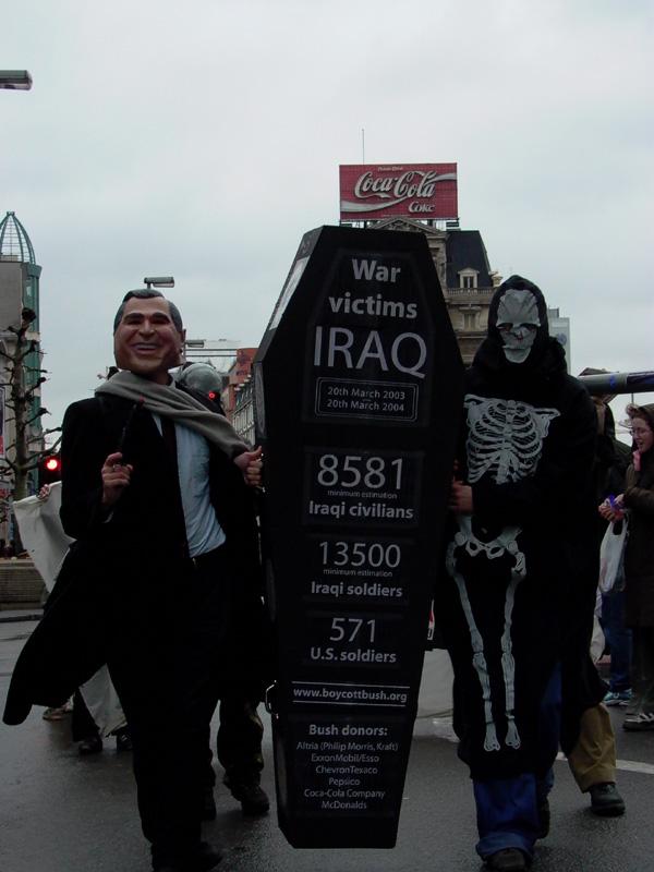 Boycot protest in Br...