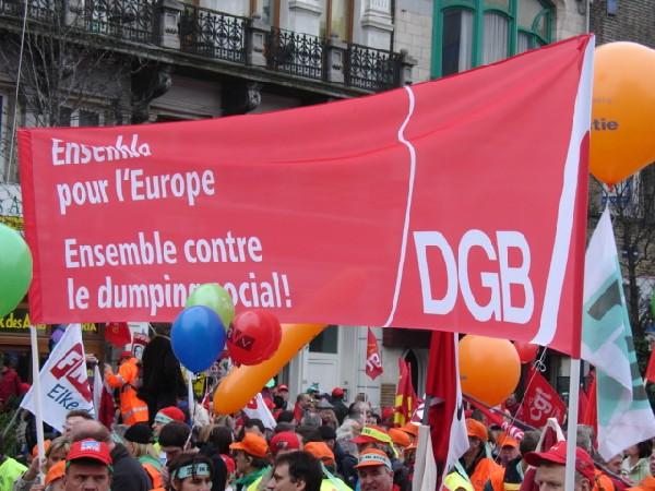 Samen met DGB tegen ...