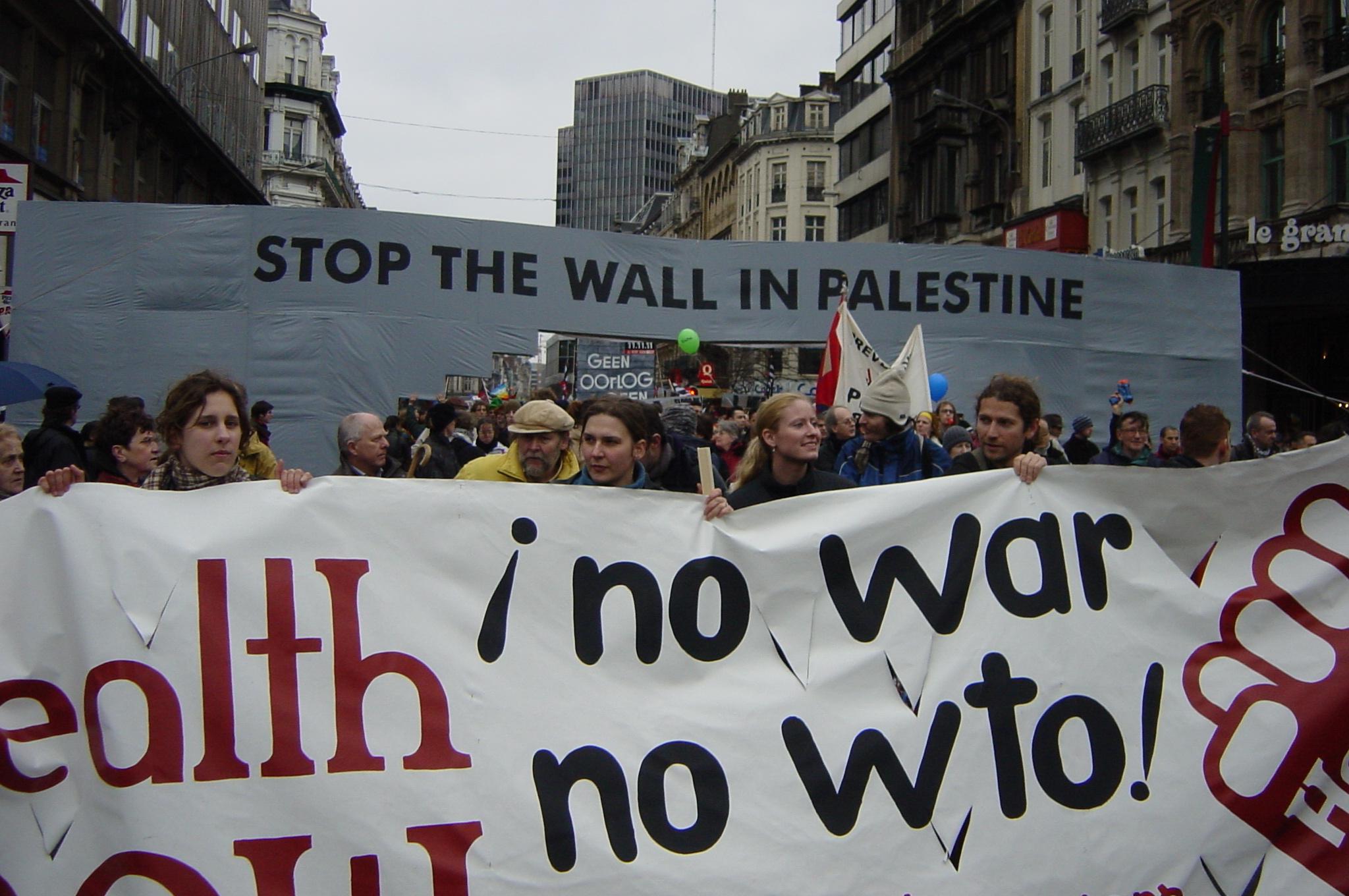 no war no WTO...