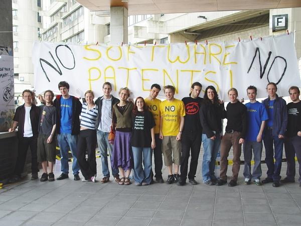 Studenten protestere...