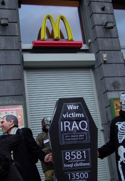 McDonalds gesloten....