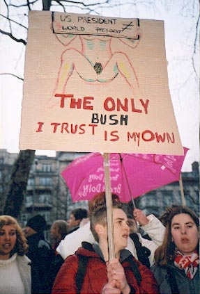 The only bush i trus...